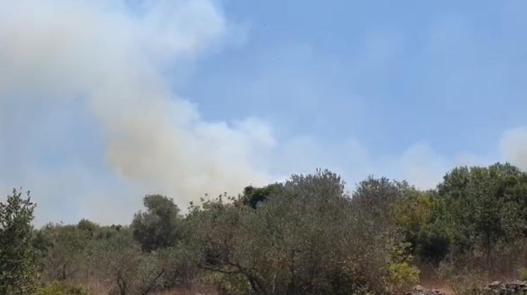 שריפה ליד חריש
