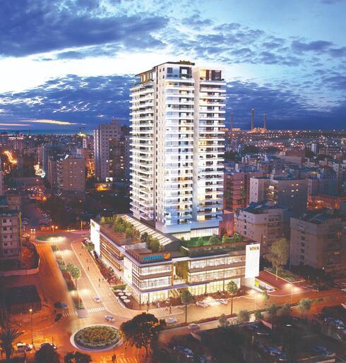 המרכז הרפואי החדש במתחם ויוה חדרה