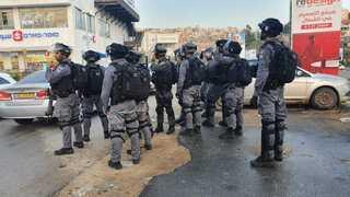 שוטרים באום אל פאחם