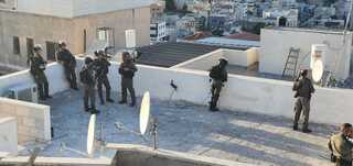 פעילות המשטרה באום אל פאחם