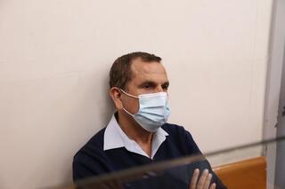 אדרי בבית המשפט, לאחר מעצרו