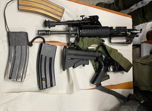 הנשק שמצאה המשטרה