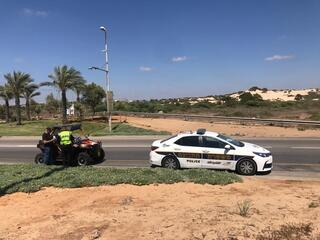 מבצע האכיפה של המשטרה בחופים