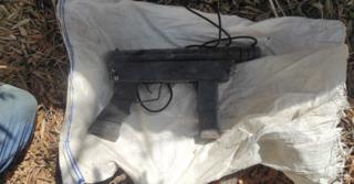 הנשק שמצאו השוטרים