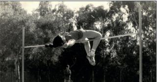 אורית אברמוביץ, אלופת אסיה בשנת 1974 בקפיצה לגובה