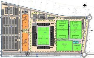 פרוגרמת האיצטדיון החדש בחדרה | צילום: באדיבות העירייה