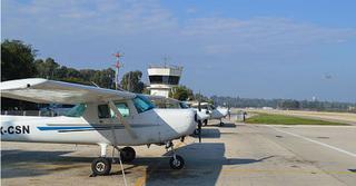 שדה התעופה בהרצליה (צילום: מטה המאבק למניעת הקמת שדה תעופה)