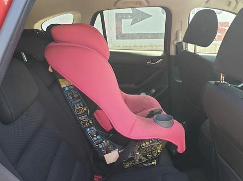 הרכב בו נשכח התינוק | צילום: דוברות עיריית חדרה