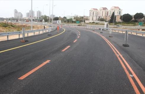 הכביש החדש. ישדרג את הכניסה לעיר   צילום: דוברות עיריית חדרה