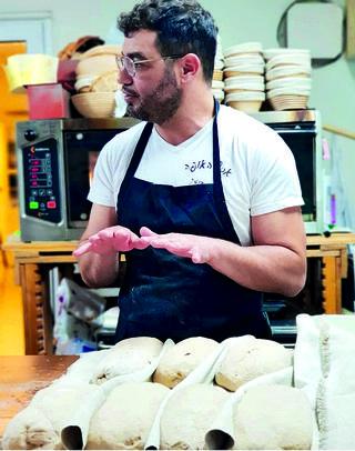 אסף האופה. להידבק בחיידק הלחם | צילום: מאיה הלפרט