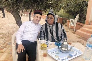 ביטון במרוקו   צילום: מתוך הפייסבוק