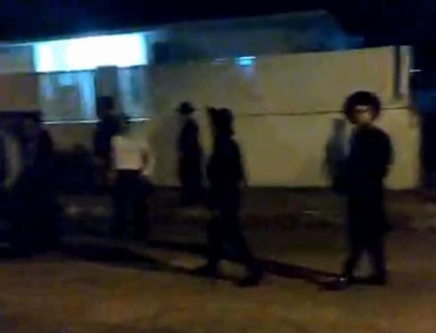 החרדים בהפגנה | צילום מסך